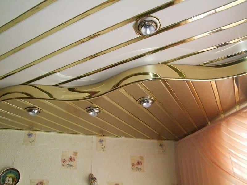 Как сделать навесной пластиковый потолок