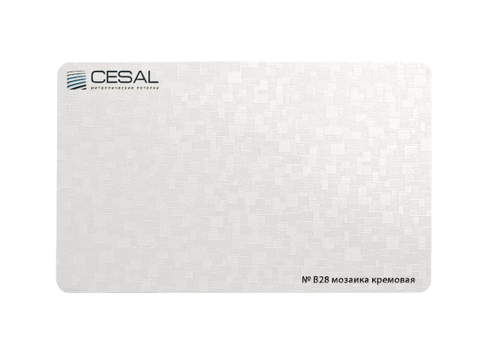 Купить рейку Cesal B28 цвета мозаика кремовая | Компания ТМТ-Групп