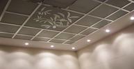Кассетный потолок с орнаментом