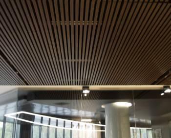 Подвесные кубообразные потолки