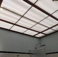 Потолок в ванную комнату