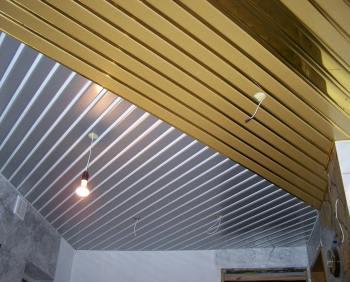 Подвесные реечные потолки
