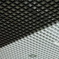 Потолок Грильято. Ячейка 100х100