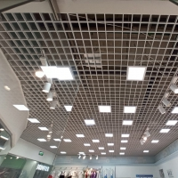 Подвесной потолок Грильято в магазине