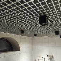 Подвесной потолок Грильято. Ячейка 75х75