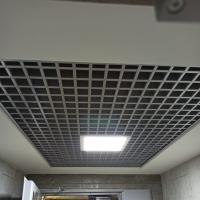 Потолок Грильято с ячейкой 50х50