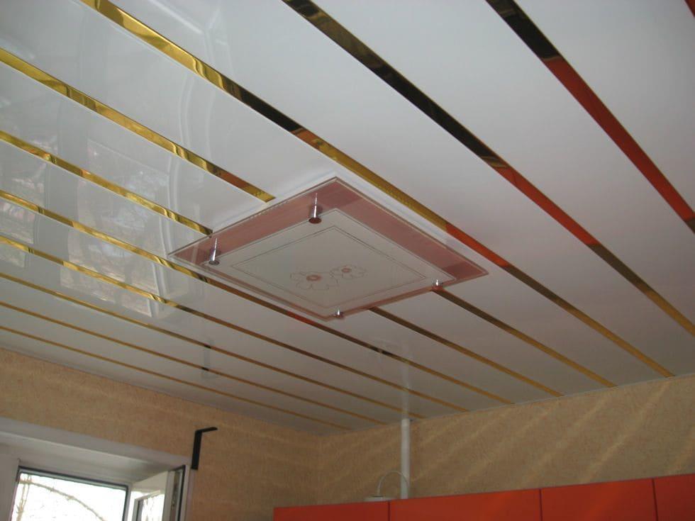 Подвесные реечные потолки фото и цены